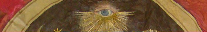all seeing eye from lodge banner